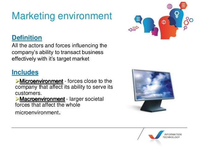 marketing enviroment The marketing environment by daniel s & caitlin t - marketing, uws.