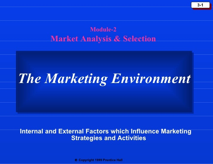 internal environment and external environment in marketing Internal and external environment analysis on  external environment, internal environment,  functioning coordination between marketing and non.