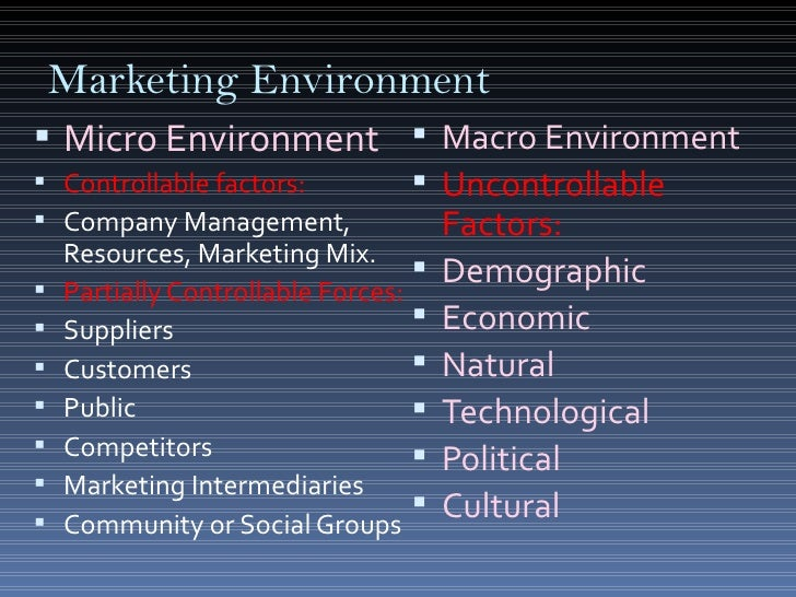 malaysias microeconomic and macroeconomic environment marketing essay Micro and macro environment of mcdonalds marketing essay  macro environment micro environment the environment which is close to the company that affects.