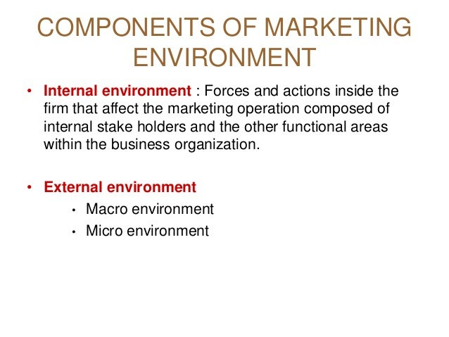 micro environment of hotel industry