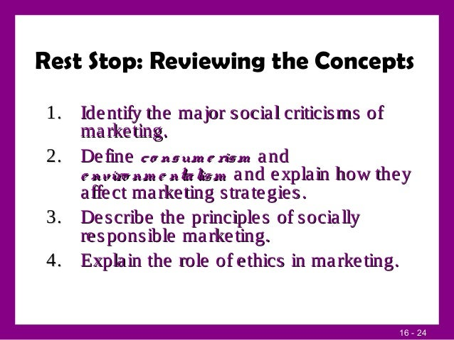 role of ethics in marketing Ethics are tricky in any field there is a general consensus that marketing strategies must not infringe on values like honesty, transparency, and autonomy.