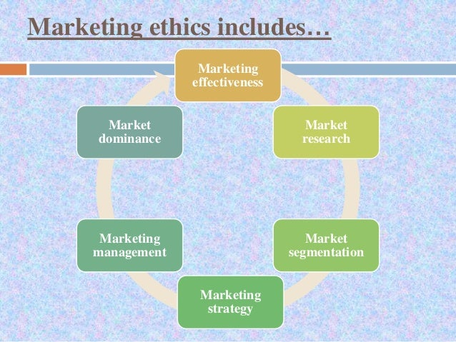 is it ethical to market to Marketing raises some of the most widely and hotly disputed ethical issues  regarding business whether it is advertising, retailing, pricing, marketing  research, or.