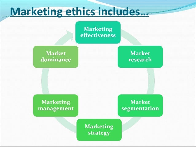 ethics and practices in marketing Ethical consumerism is the broad label for companies providing products  until  marketing practices do the best that they can to guide ethical.