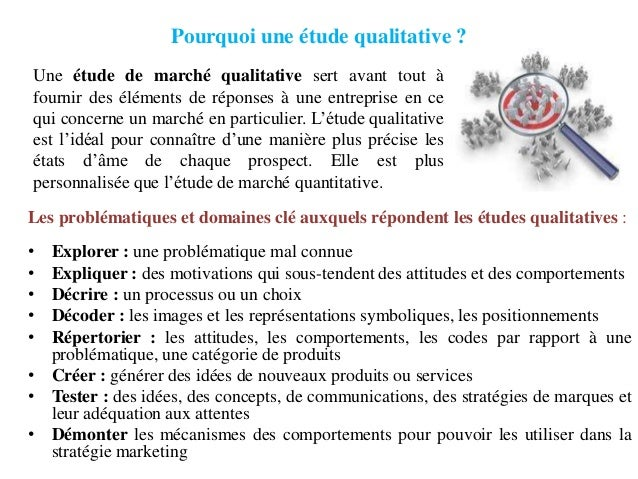 Marketing Etude Qualitative