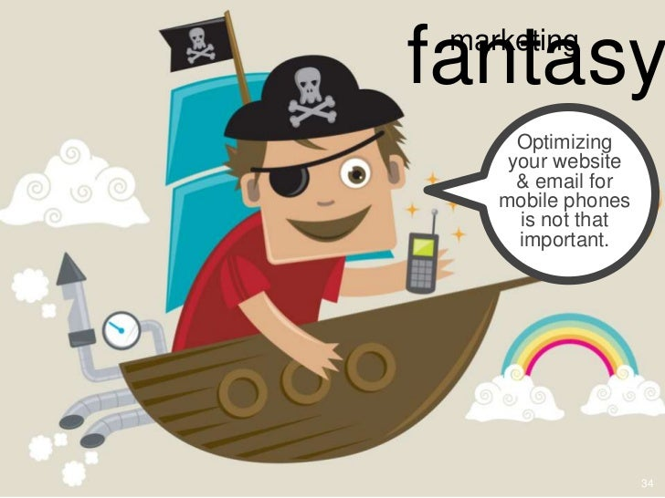 fantasy marketing      Optimizing     your website      & email for    mobile phones      is not that      important.     ...