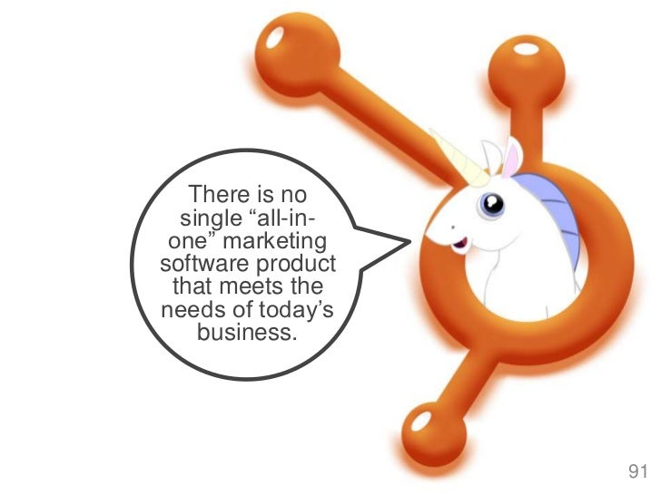 """There is no  single """"all-in- one"""" marketingsoftware product that meets theneeds of today""""s    business.                   ..."""