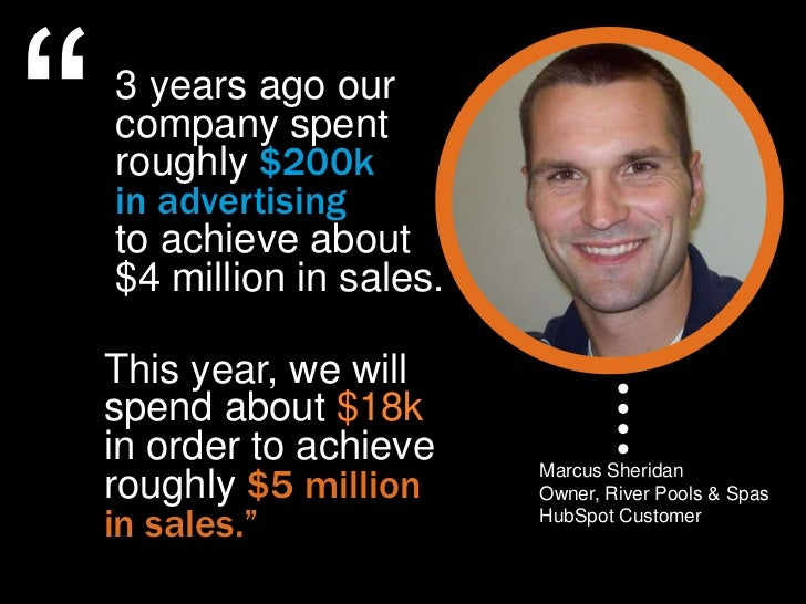 """""""   3 years ago our    company spent    roughly $200k    in advertising    to achieve about    $4 million in sales.    Thi..."""