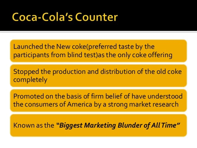 marketing research on coke Case study: coca-cola drinks group rejuvenates its product the company made key acquisitions in the non-carbonated drinks sector to expand its presence in the growing market these included a deal for glaceau analysts research executive job search advertise with the ft follow the ft on.