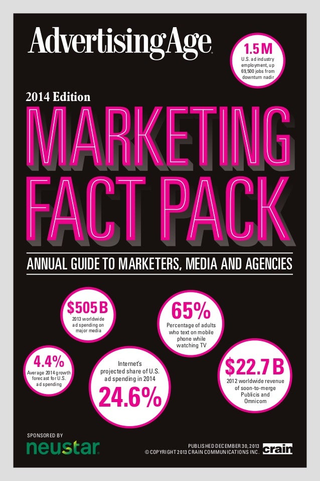 annual2014 v38.qxp  12/17/2013  11:31 AM  Page 1  1.5 M  U.S. ad industry employment, up 69,500 jobs from downturn nadir  ...