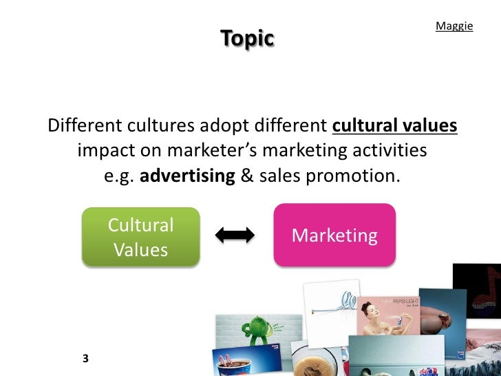 Impact of culture on marketing