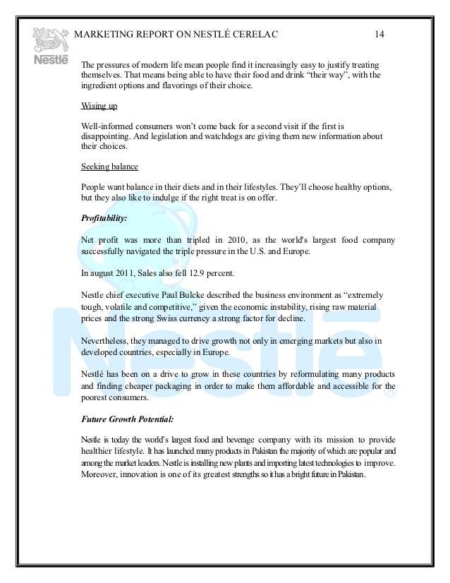 Nestea marketing research essay