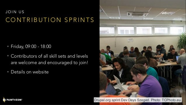 • Friday, 09:00 - 18:00 • Contributors of all skill sets and levels are welcome and encouraged to join! • Details on websi...