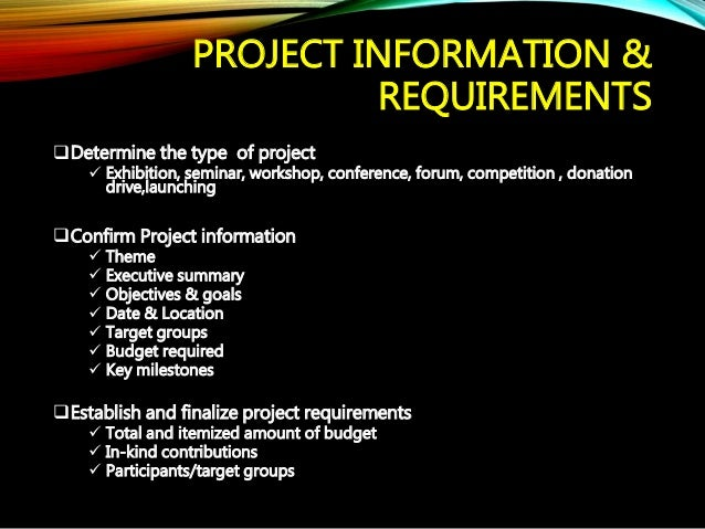 basic marketing project report Project plan for (or the feasibility study report) and the project requirements specification and marketing sales service.
