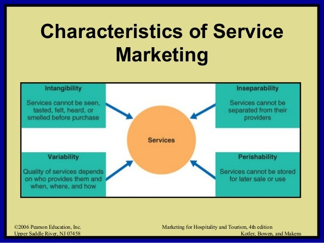 meanign and characteristics of a service In our last post, we discussed how you can successfully market your services today, we are going to examine the 5 major unique characteristics of services or classification of services in service marketing which are.