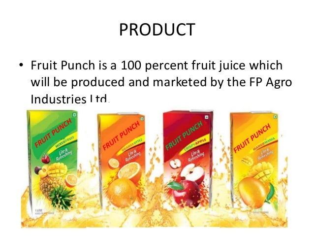 marketing of real juice The reliability induced by the brand name dabber lends it as been real's biggest strength for this project, market research was done over a sample of 100 people.