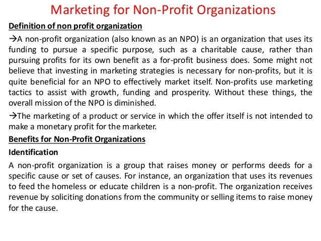 organisational marketing defined First, this new definition places responsibility for marketing at the organizational level, rather than the individual or even departmental level with this definition, marketing is rightly.