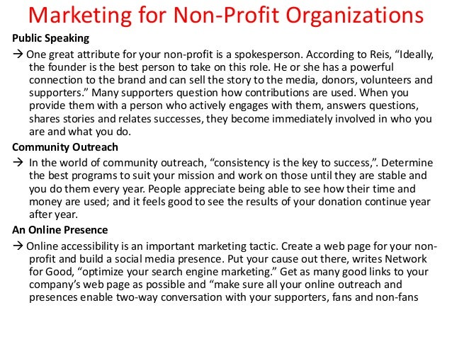 marketing mix for charity organisation Charity marketing is well-established as the market leading guide to  it explains  how using marketing principles to underpin every aspect of activity can transform  not-for-profit organisations to meet, need and  the charity marketing mix 5.