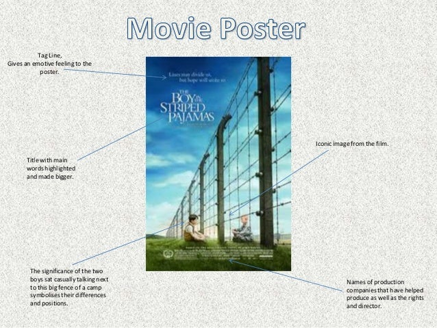 Poster analysis for  The Boy In The Striped Pyjamas  3a6d55e52