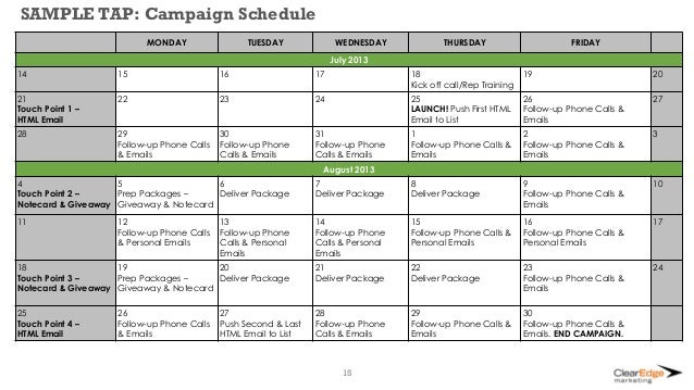 Email Marketing Plan Sample  Plan