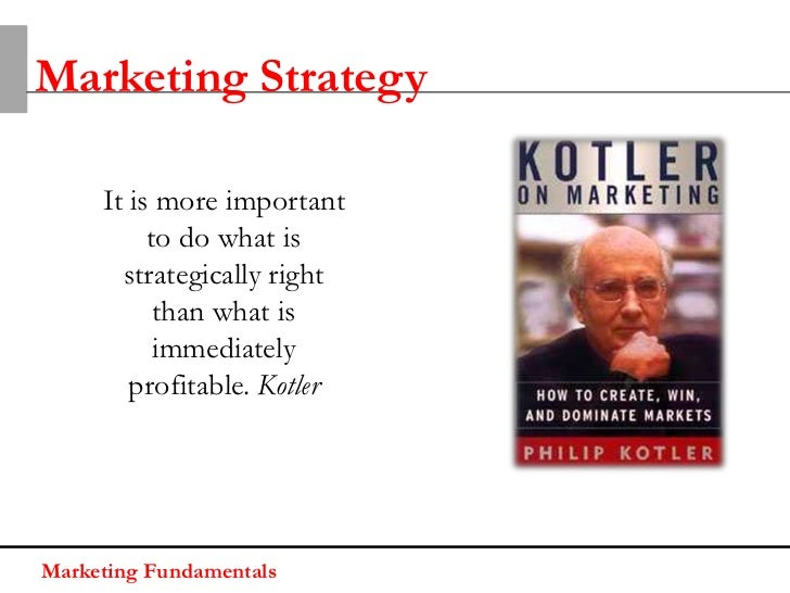 Marketing StrategyMarketing strategy is a pattern or plan that integrates theorganizations:• Goals• PoliciesTo achieve cus...