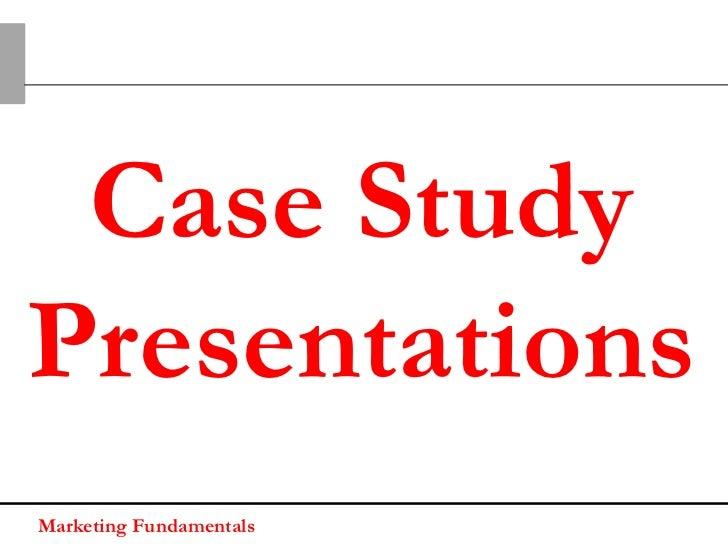 Case Study   ProposedcommunicationMarketing Fundamentals