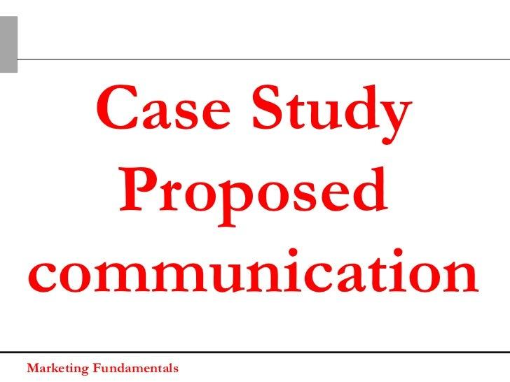 Case Study - Execution 1Marketing Fundamentals