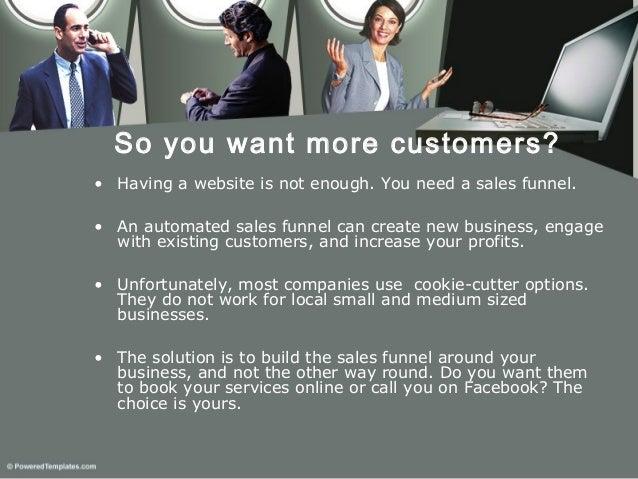 Marketingfunnel presentation for small businesses  Slide 2