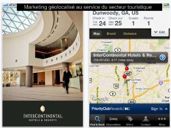 Marketing géolocalisé au service du secteur touristique<br />