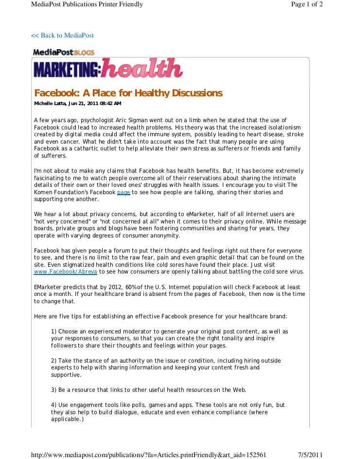 MediaPost Publications Printer Friendly                                                         Page 1 of 2<< Back to Medi...