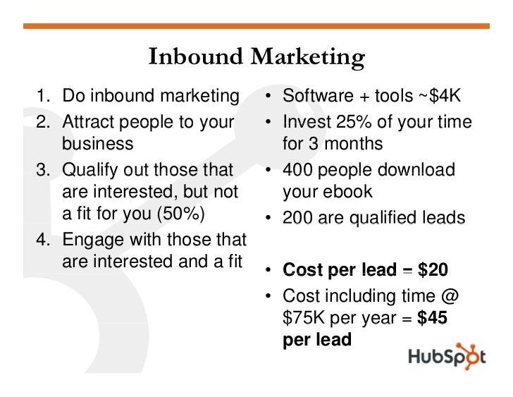 Outbound vs. Inbound Marketing                  Outbound   Inbound                  Marketing   Marketing CashCost     ...