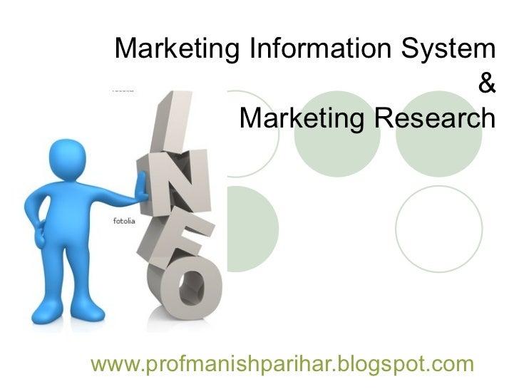 Marketing information system essay