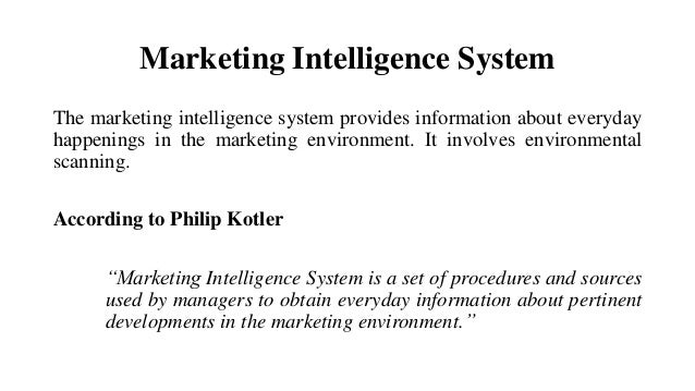 """abstract on marketing intelligence system for Abstract this paper develops a model of information-acquisition  that are  competing in a """"strategic factor market"""" (barney 1986) to."""