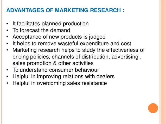 marketing research example