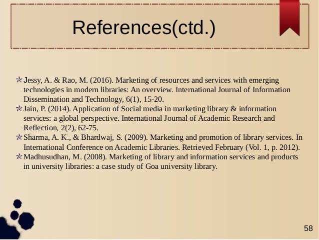 reference marketing and international journal 93 international journal of marketing references aaker (1991)managing brand equity: capitalizing on the value of a brand name new york.