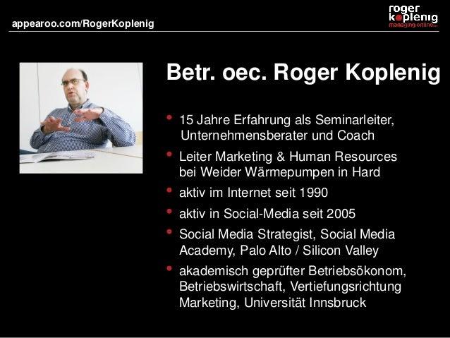 Marketing in Sozialen Netzwerken Slide 2