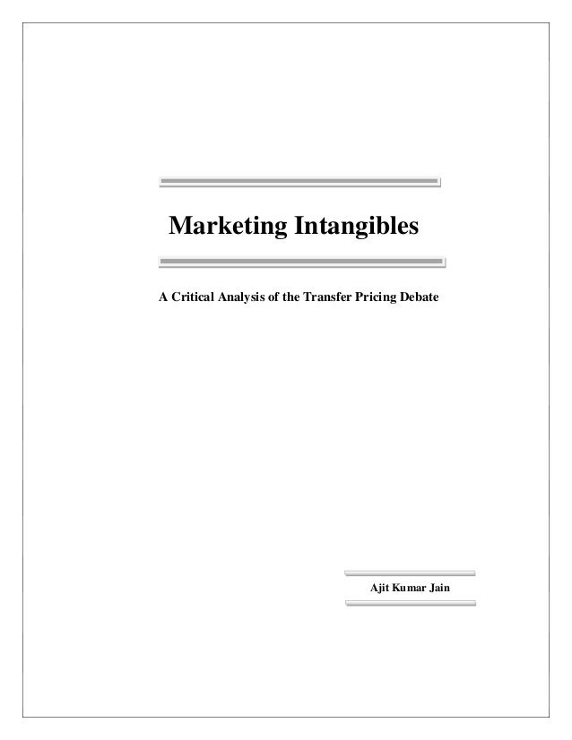 thesis transfer pricing