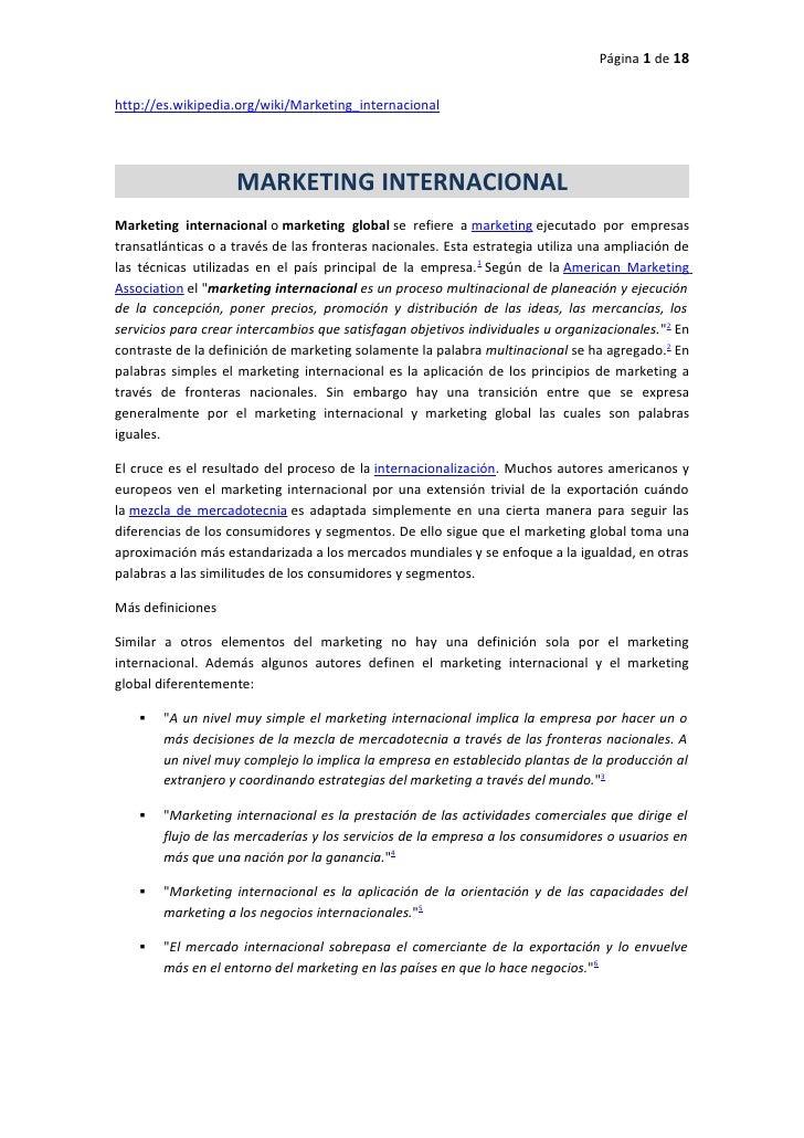 ensayo marketing internacional El entorno político es una variable significativa que influye en las decisiones de marketing se refiere al poder, relacionado con los gobiernos nacionales  innovación las 4 p´s las 22 leyes del marketing leyes liderazgo los 10 aplanadores líder marca marca personal marketing marketing actual marketing internacional medios de.