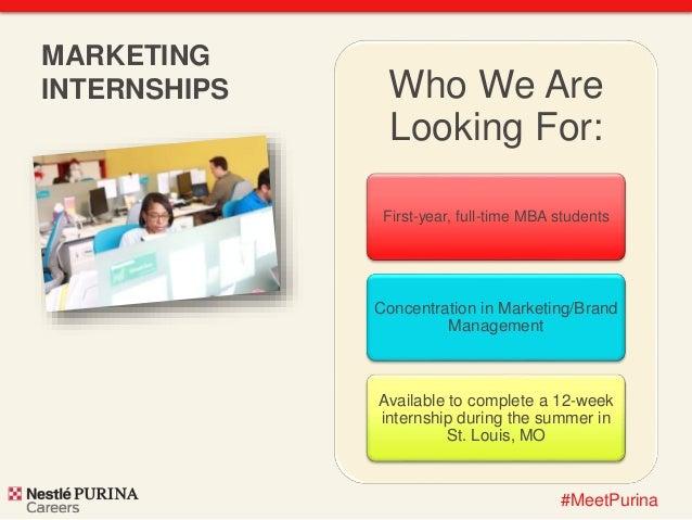 nestl u00e9 purina marketing internship 2015