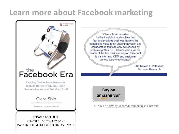 Comprehensive Facebook Marketing Play Book (2009) Slide 2