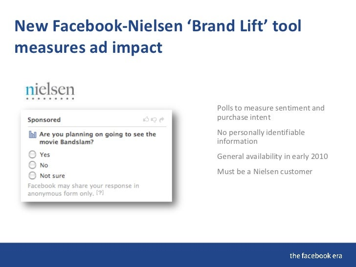 New Facebook 'Engagement Sampling Ad'                            Home page campaigns start at $50K                        ...