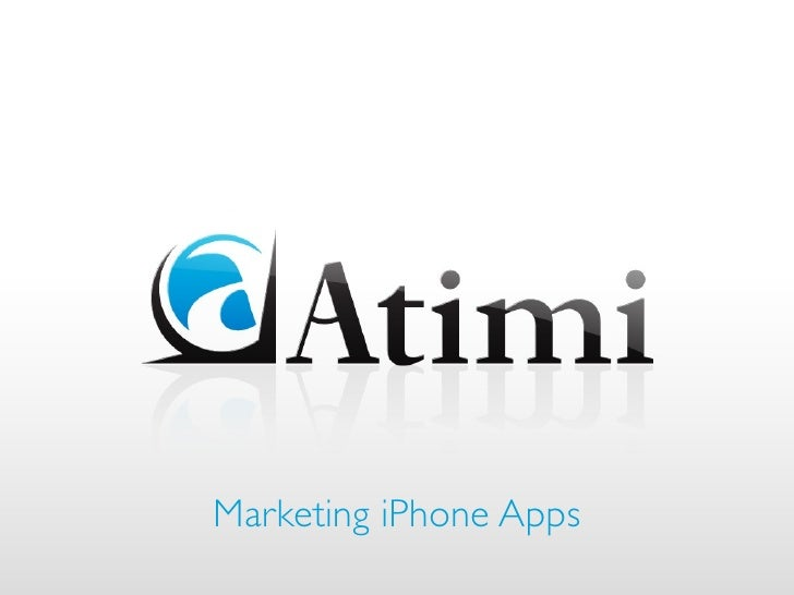 Marketing iPhone Apps