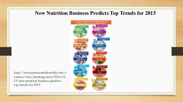 Market And Marketing Of Functional Food In Europe