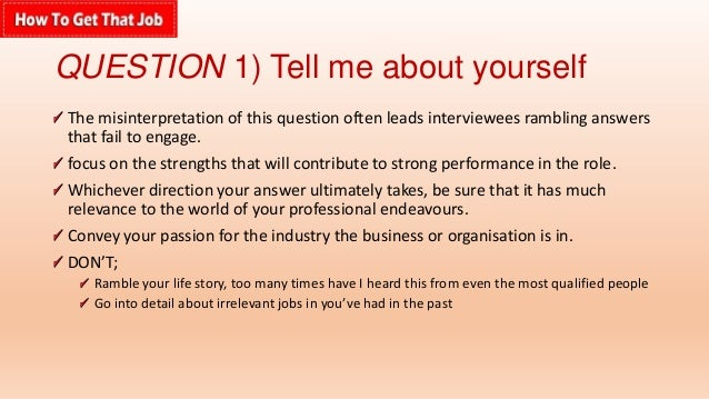 How To Answer Job Interview Questions  Interview Questions And Answers