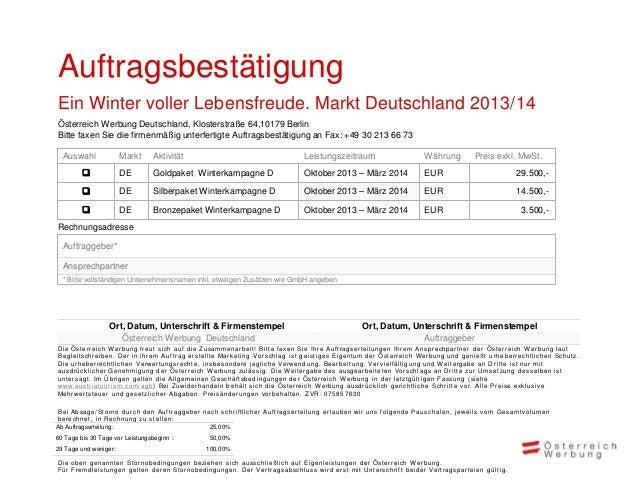 Wir freuen uns auf dieZusammenarbeit!Iris Wermescher                Fanny Brommeriris.wermescher@austria.info   fanny.brom...