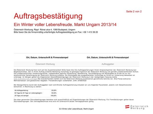 Wir freuen uns auf dieZusammenarbeit!Péter Szedlák                Vorname Nachnamepeter.szedlak@austria.info   vorname.nac...