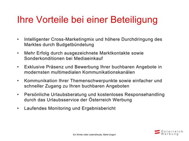 Inhaltliche Ausrichtung der Kampagne                                                          Die Marketingkampagne 2013/1...