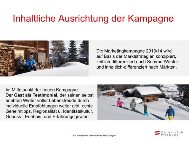 Inhaltliche Ausrichtung der Kampagne   Winter 2013/14 in Ungarn                                                          •...