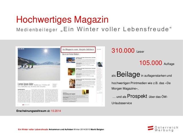 Ein Winter voller Lebensfreude Ankommen und Aufleben Winter 2014/2015 Markt Belgien Userfreundlich und suchmaschinenoptimi...