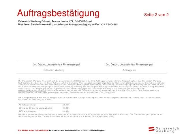 Theresa Haid Theresa.Haid@austria.info Tel: 0032 2 64222-15 Fax: 0032 2 6404693 Avenue Louise 479 1050 Bruxelles Belgien V...