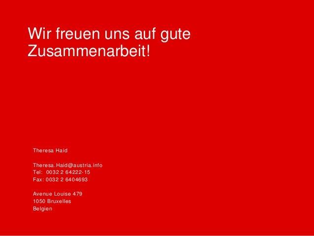 ÖW Marketingkampagne Winter 2014/15 Belgien